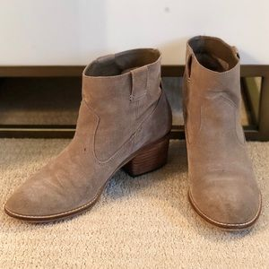 Taupe Dolce Vita Pull On Booties
